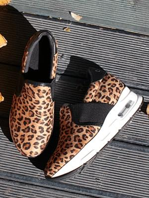 Leopard height 6.5cm slip-on