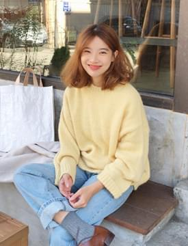 Have alpaca color knit_K (알파카 5%, 울 21%) (size : free)