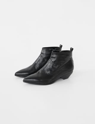 wooden hill western boots (3colors)