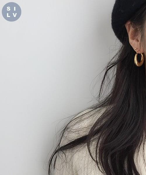 (silver925) mars earring