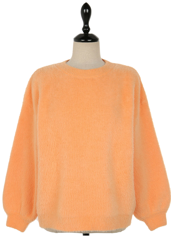 Powdery knit