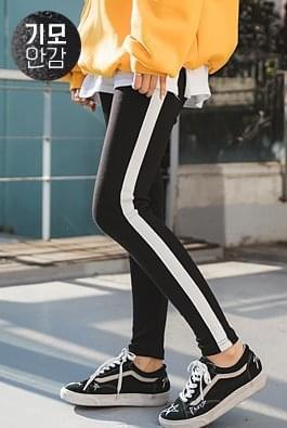 Brushed vitamin leggings