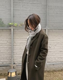 타임 핸드메이드 coat (*3color)