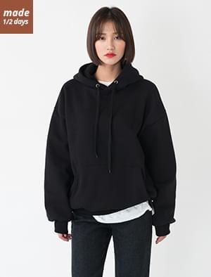 Woolen Hooded Sweatshirt