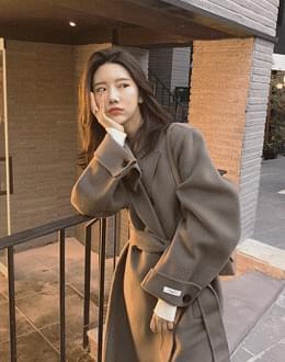 박시롱 핸드메이드 coat (*3color)