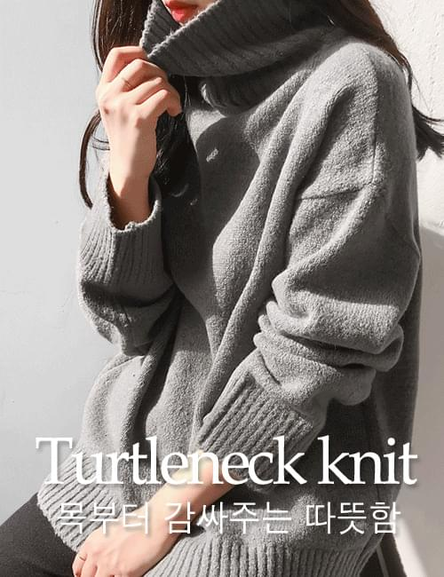 Newer turtleneck knit