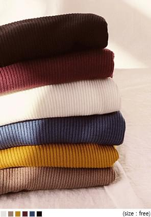 6 COLOR SUCH GOLGI TURTLE NECK KNIT