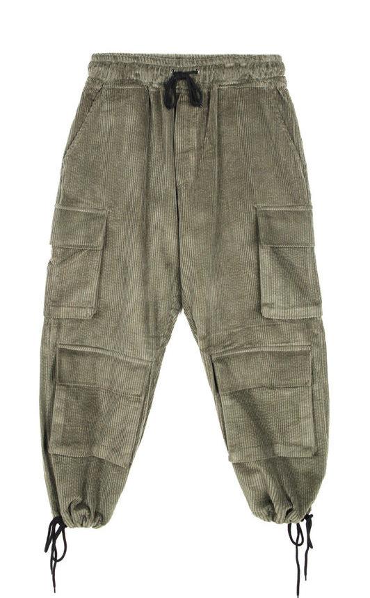 corduroy wide cargo pants (3 color) - UNISEX
