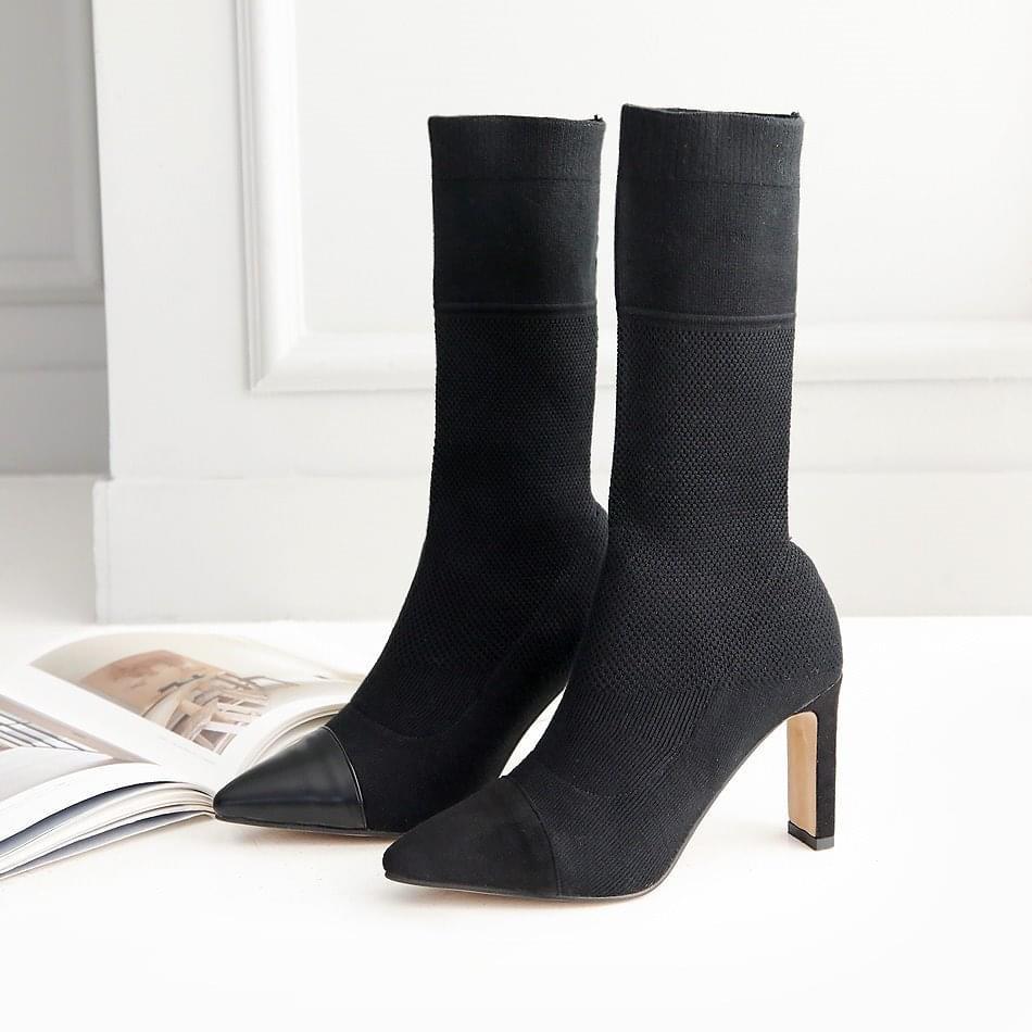 Ducas Socks Middle Boots 8.5cm