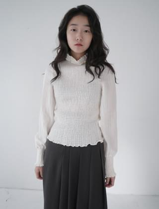 back vent blouse