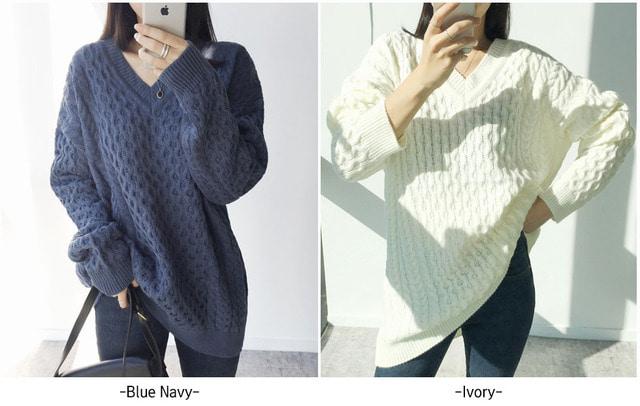 Bay leaf knit