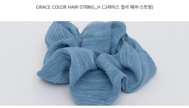 Grace color hair-string_H (size : one)