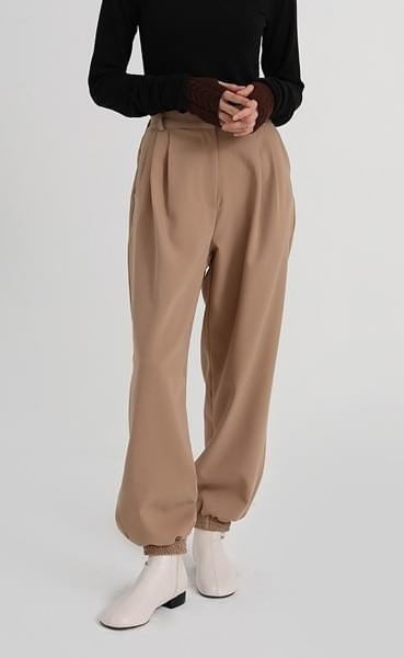 museum banding jogger pants (3colors)