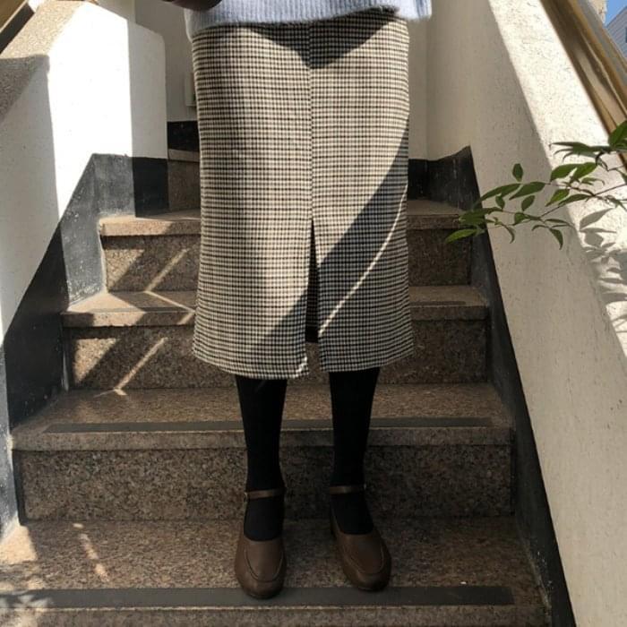 Brooklyn-midi skirt