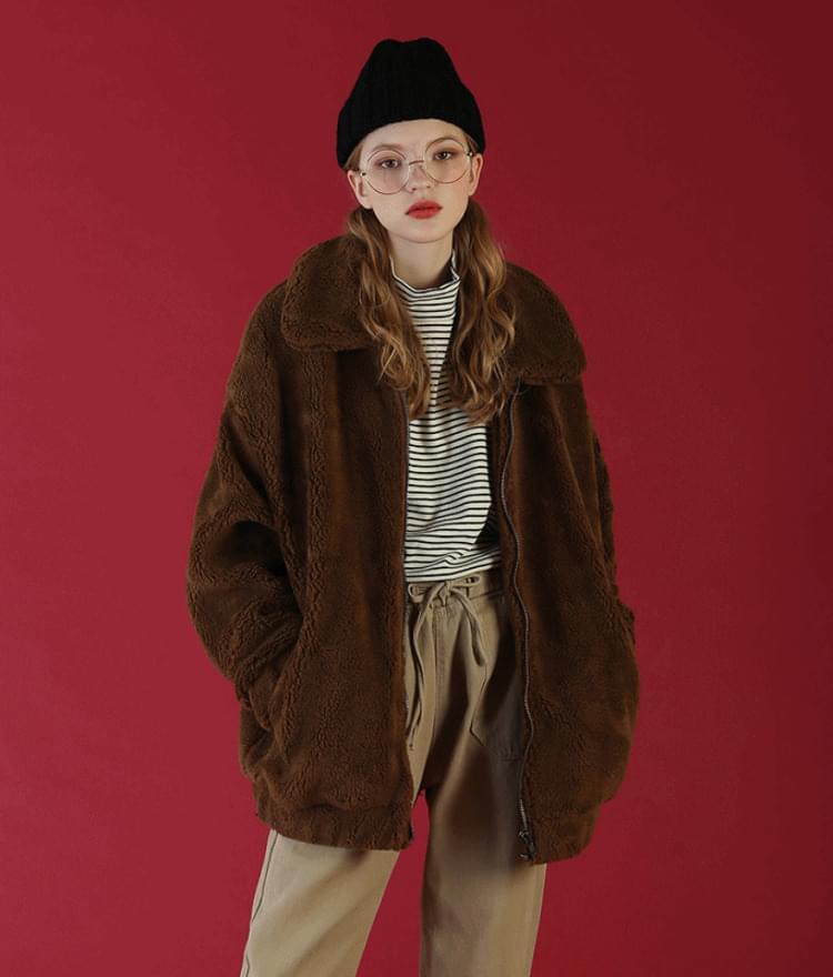 Overfit Momo Fleece Jacket