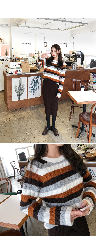 Tigara baguette knit