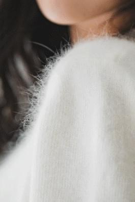 An angora knit