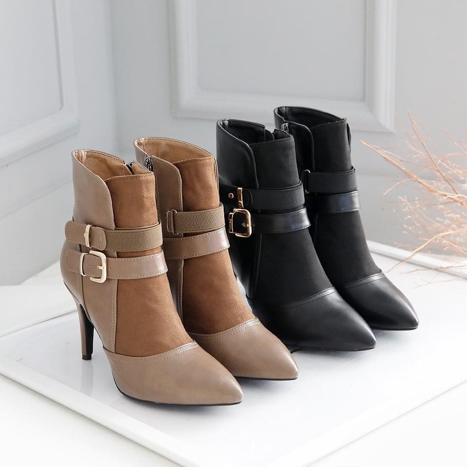 Sharp Stiletto Ankle Boots 9cm