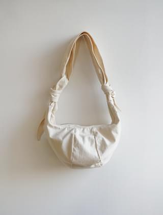cotton tie bag (2colors)