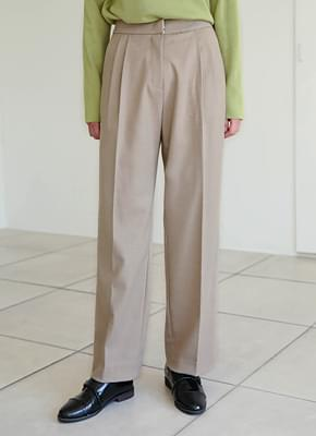 Sand Loose Fit Slacks