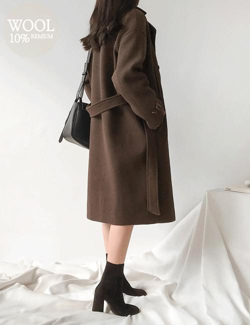 Machi Late Wool Coat