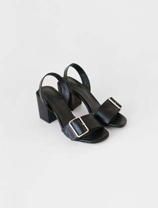 buckle open toe high sling back(3colors)