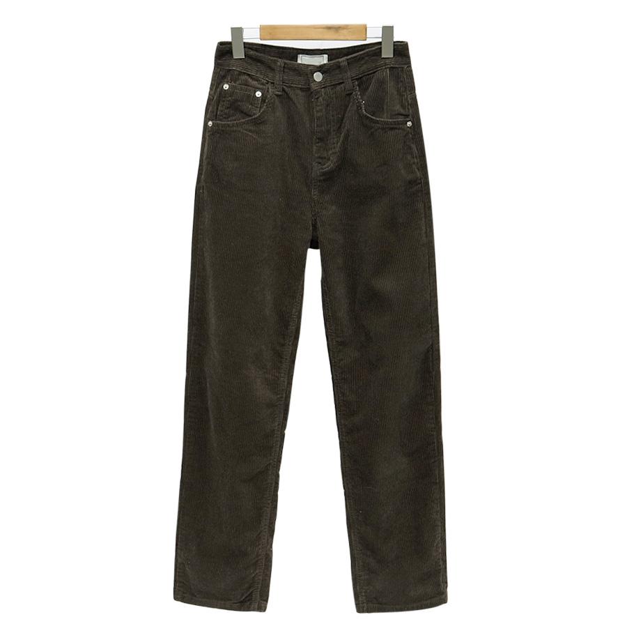 Look corduroy straight pants_S (size : S,M,L)