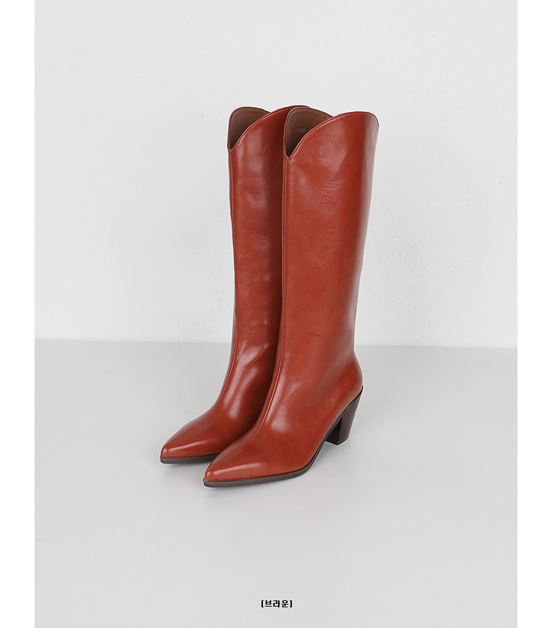 muimonia wide high boots (2colors)