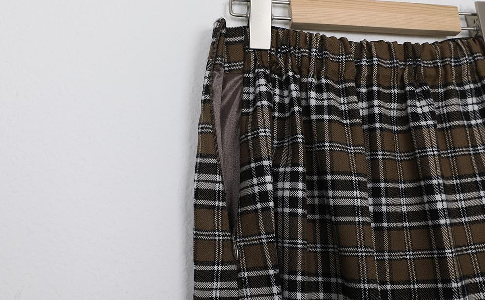 check pin skirt (2colors)