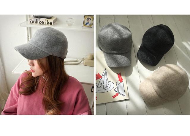Wool Pure Cap Hat