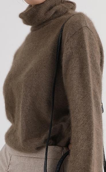 raccoon pola knit (2colors)