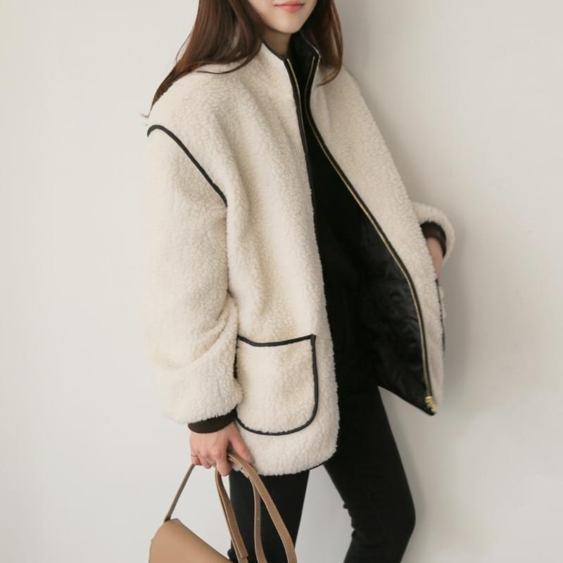 Double-sided fleece jumper jp