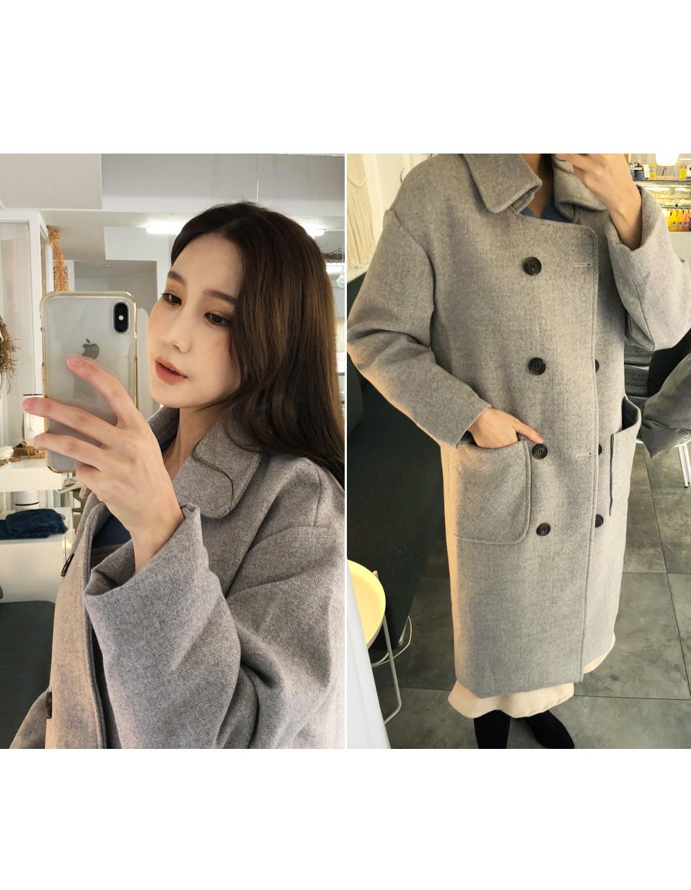 Soft-wide coat