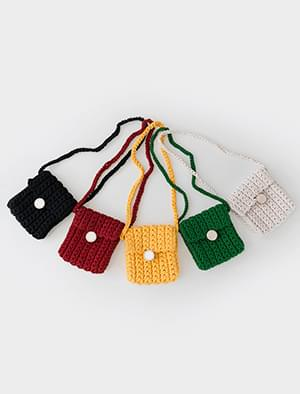 colorful mini cross bag