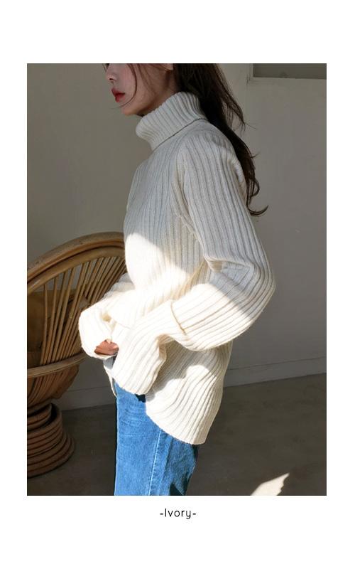 Long Sleeve Goly Paula Wool Knit