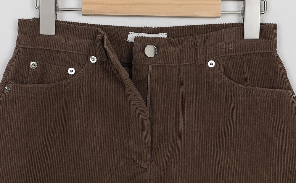 corduroy mini skirt (2colors)
