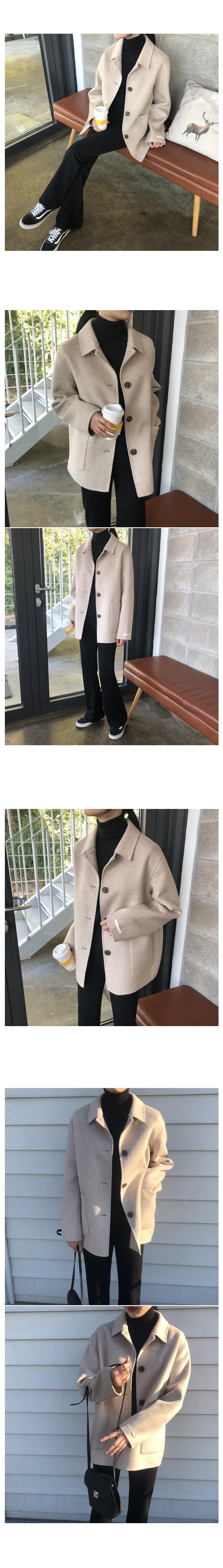 Serial handmade short coat
