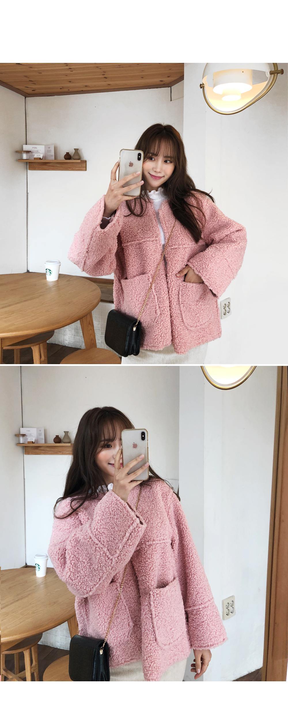 Love double-sided fleece jacket