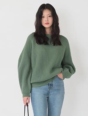 casual wool knit