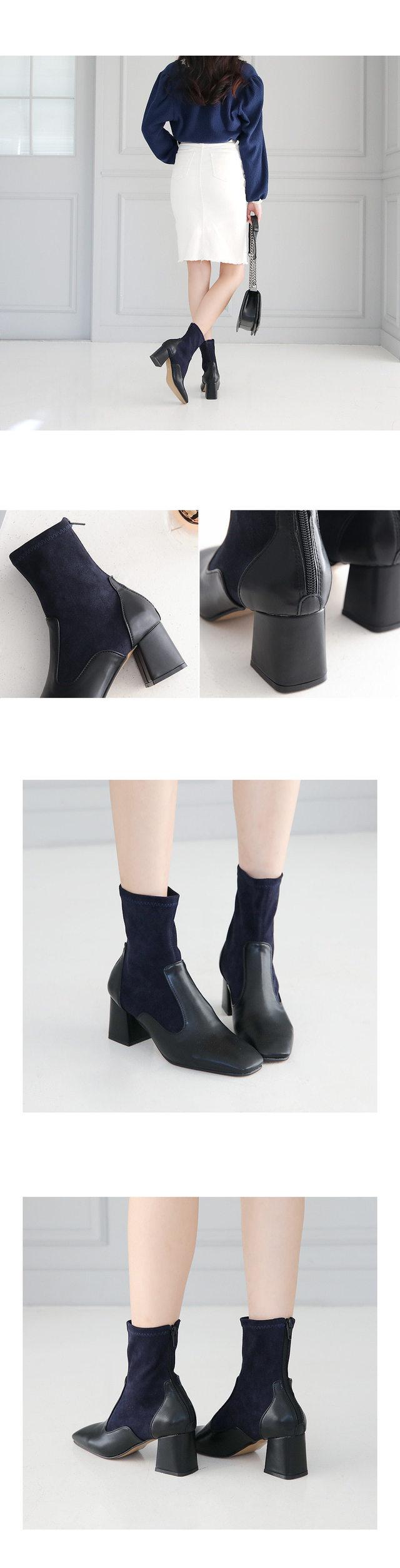 Walking Ankle Socks Boots 6.5cm