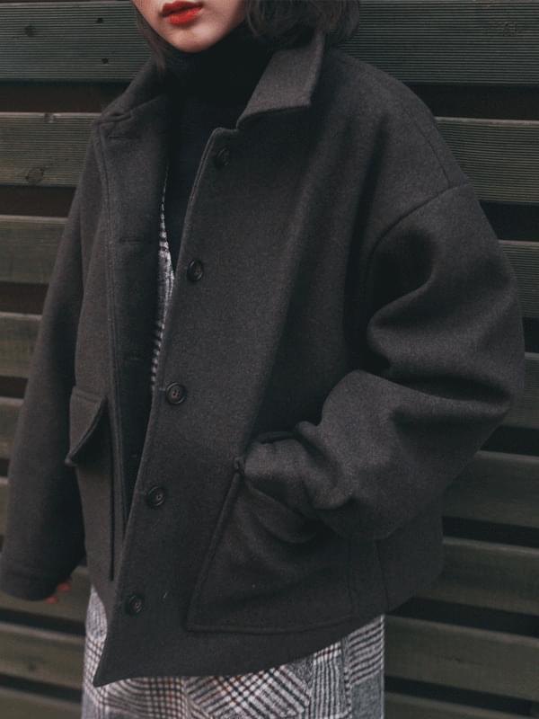Meringue pocket jacket