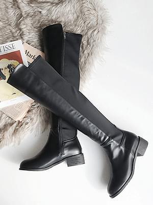 Eiffel Lone Spaniel High Boots 4cm