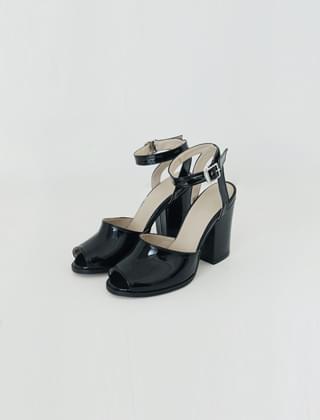 simple strap open toe heels(6colors)