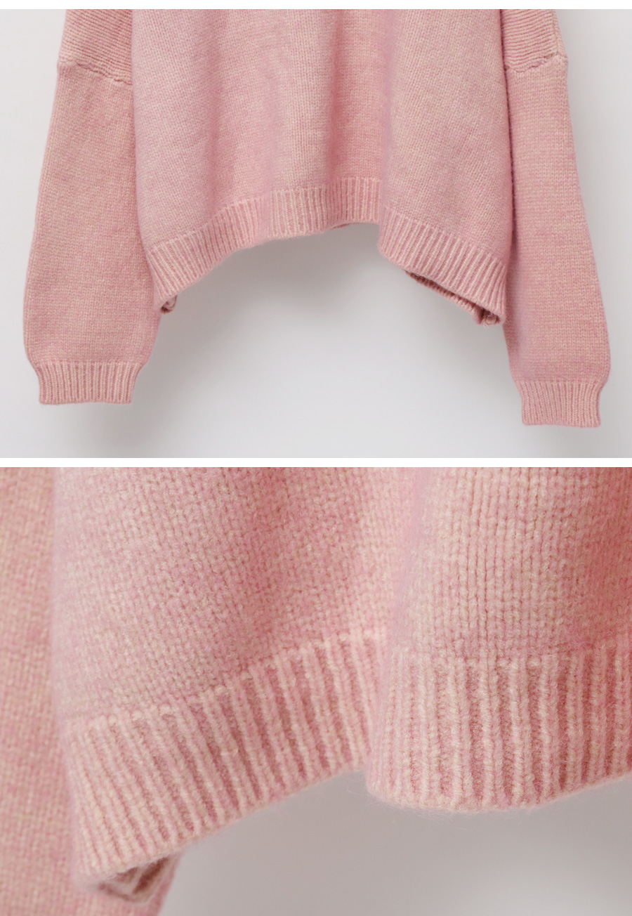 Shade color round knit_H (size : free)