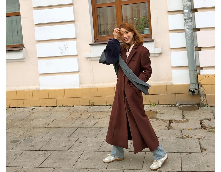 Petal vintage line coat_S (size : free)