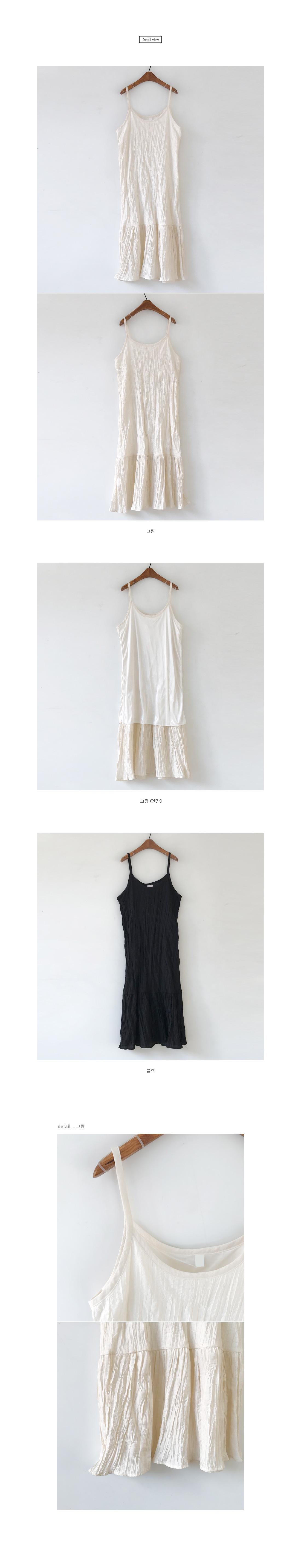 Calling pleated nashi long dress