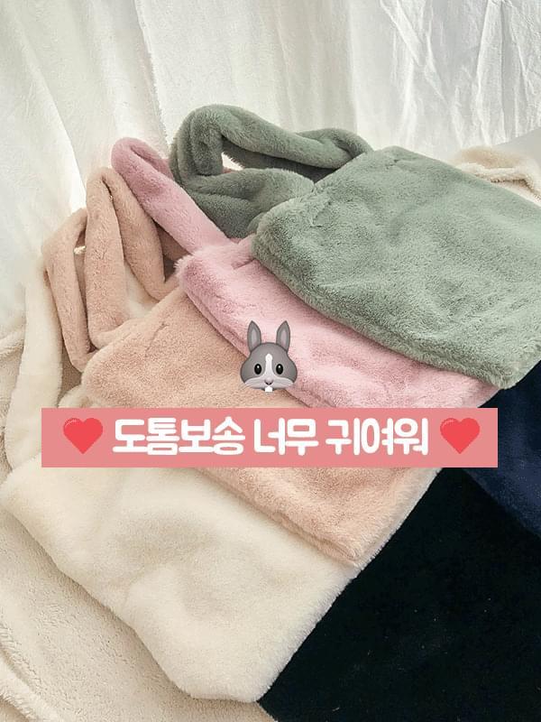 솜사탕 밍크 에코백 (bag181)