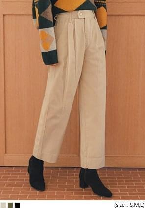 TOAST PINTUCK COTTON PANTS