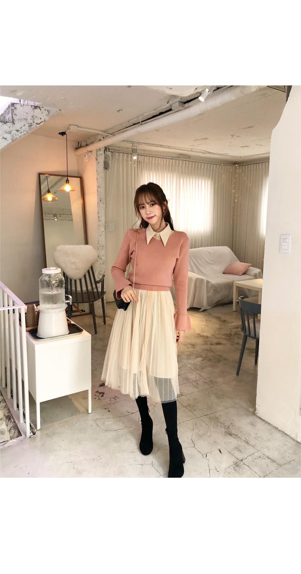 Love Hanina Knit + Dress SET