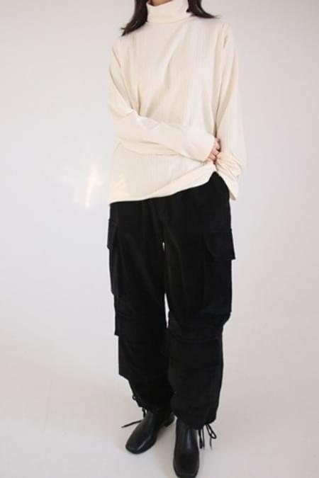 pocket corduroy pants (2colors)